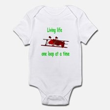 One loop at a time... Infant Bodysuit