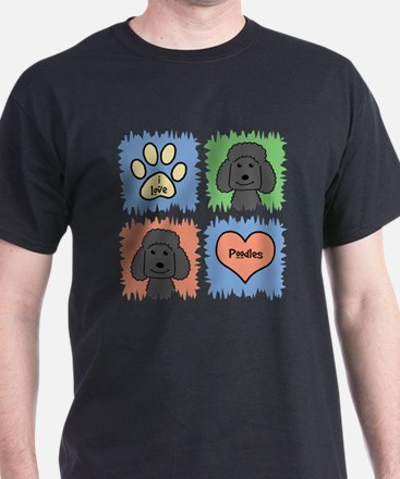 Funny Poodle i have standards T-Shirt