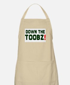 DOWN THE TOOBS! Apron