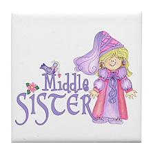 Princess Middle Sister Tile Coaster