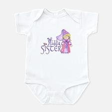 Princess Middle Sister Infant Bodysuit