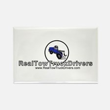 Tow Truck Driver Rectangle Magnet