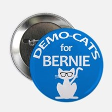 "Demo-Cats For Bernie 2.25"" Button"