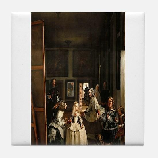Diego Velazquez's Las Meninas Tile Coaster