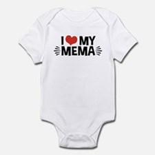 I Love My Mema Infant Bodysuit