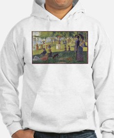Georges Seurat's A Sunday Aftern Hoodie