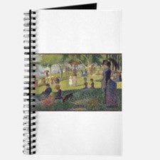 Georges Seurat's A Sunday Afternoon on the Journal