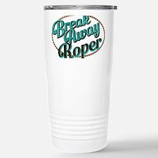 Break-away Roper Stainless Steel Travel Mug