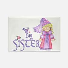 Princess Big Sister Rectangle Magnet