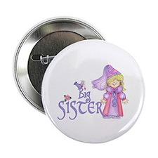 "Princess Big Sister 2.25"" Button (10 pack)"