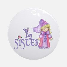Princess Big Sister Ornament (Round)