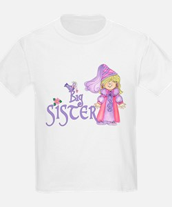 Princess Big Sister T-Shirt