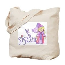 Princess Big Sister Tote Bag