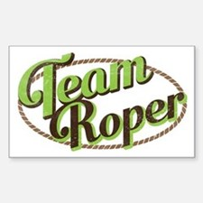 Team Roper Decal