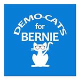 Bernie sanders for president Square Car Magnets
