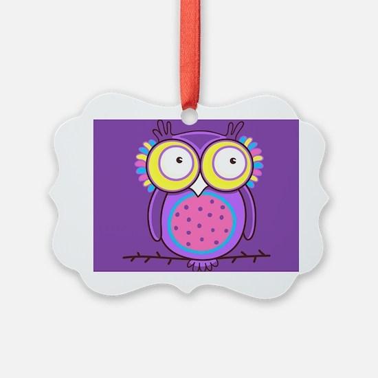 Colorful Owl Ornament