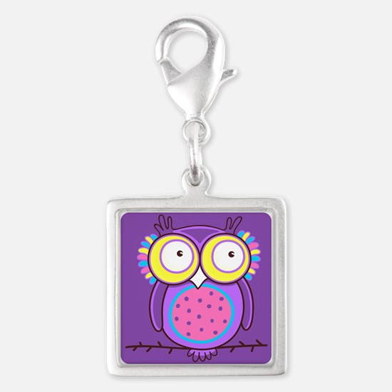Colorful Owl Charms
