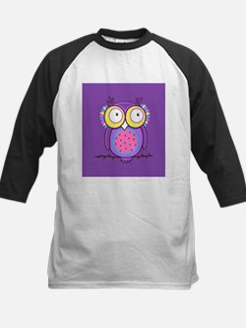 Colorful Owl Baseball Jersey
