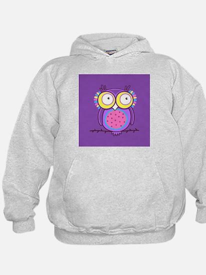 Colorful Owl Hoodie