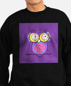 Colorful Owl Sweatshirt