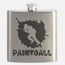 Paintball Splatter Flask