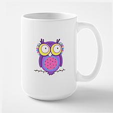 Colorful Owl Mugs