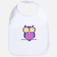 Colorful Owl Bib