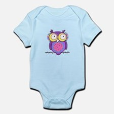 Colorful Owl Body Suit
