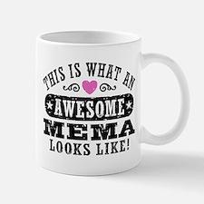 This Is What An Awesome Mema Looks Like Mug