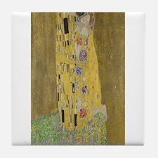 Gustav Klimt's The Kiss Tile Coaster