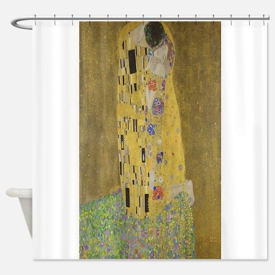 Gustav Klimt's The Kiss Shower Curtain
