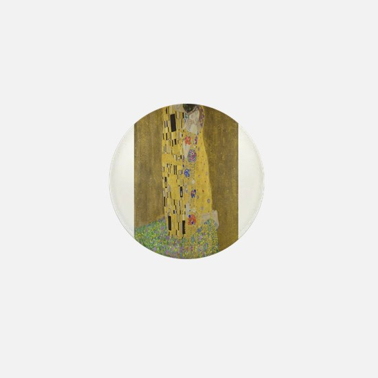 Gustav Klimt's The Kiss Mini Button