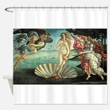 Sandro Botticelli's The Birth of Ve Shower Curtain