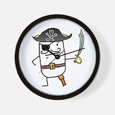 Big John Silver Wall Clock