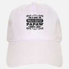 World's Greatest Papaw Baseball Baseball Cap