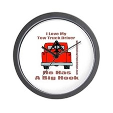 Tow Truck Driver Gift Wall Clock