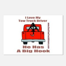 Tow Truck Driver Gift Postcards (Package of 8)
