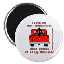 Tow Truck Driver Gift Magnet