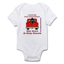 Tow Truck Driver Gift Infant Bodysuit