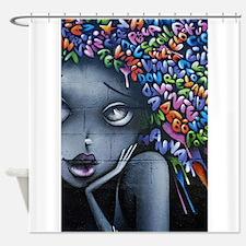 Unique Mural Shower Curtain