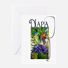 Napa Cabernet Greeting Cards