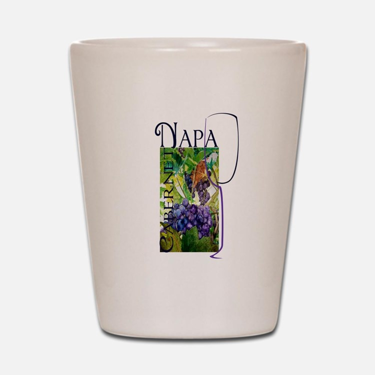 Napa Cabernet Shot Glass