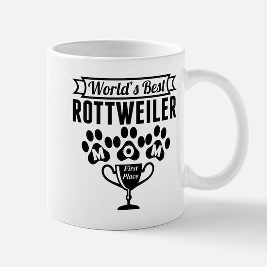 World's Best Rottweiler Mom Mugs