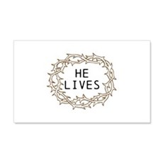 He Lives Wall Decal