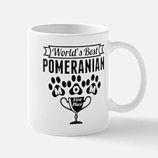 World's Best Pomeranian Mom Mugs
