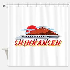 Shinkansen Shower Curtain