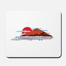 Bullett Train Mousepad