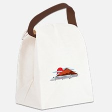 Bullett Train Canvas Lunch Bag