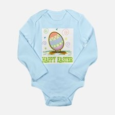 Funny Funny easter Long Sleeve Infant Bodysuit