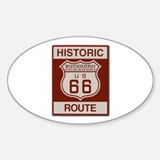 Buckhorn Route 66 Decal